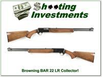 Browning BAR 22 Semi-auto 22 LR Collector!