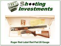 Ruger Red Label early Red Pad ANIB!
