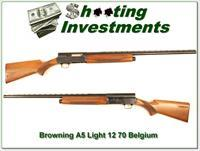 Browning A5 Light 12 70 Belgium 28in VR!