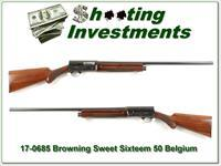 Browning A5 Sweet Sixteen 1950 Belgium made!