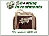 Smith & Wesson Lady Smith 38 Stainless NRA NIB!