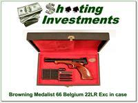 Browning Medalist 22 Auto 66 Belgium in case