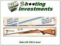Sako Finnbear AV 338 Win Mag in box!
