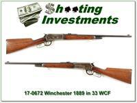 Winchester 1886 in RARE Takedown 33 WCF all original