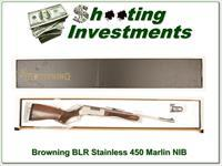 Browning BLR Stainless Lightweight in 450 Marlin NIB