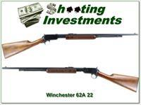 Winchester Model 62A 22 made in 1942