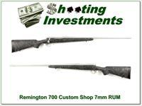 Remington 700 Custom Shop Stainless Flutted 7mm RUM!