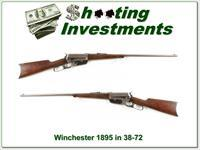 Winchester 1895 in hard to find 38-72 WCF 1903