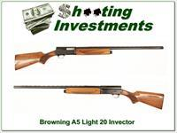 Browning A5 Light 20 Invector 28in VR
