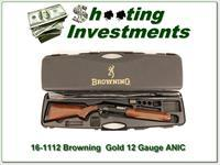 Browning Gold Hunter 12 3in Gauge ANIC!
