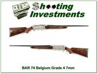 Browning BAR 74 Belgium Double Signed Grade 4 7mm