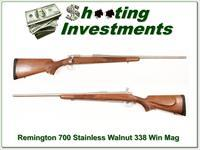 Remington Model 700 Stainless Walnut 338 Win Mag!