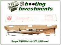 Ruger 77 Magnum 375 H&H part of Ruger Collection! XX Wood!