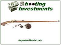Japanese match lock late 1500s to 1615