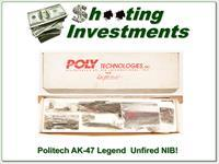 Politech Legend AK-47 S unfired in box with all accessories!