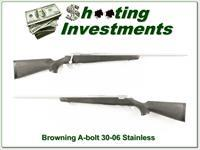 Browning A-bolt Stainless Stalker 30-06 Exc Cond!