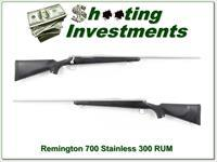 Remington 700 BDL Stainless 26in 300 RUM!