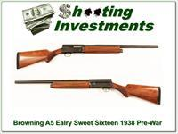 Browning A5 Sweet Sixteen Pre-War 1938 26in IC