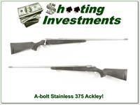 Browning A-bolt Stainless Stalker custom 375 Ackley