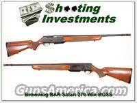 Browning BAR Safari 270 Win with BOSS!