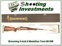 Browning A-bolt II Medallion 7mm-08 last of the new ones!