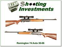 Remington 74 Sportsman 30-06 with scope!