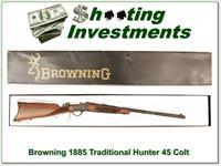Browning 1885 Traditional Hunter Low Wall 44 Rem Mag in box!