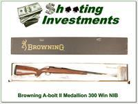 Browning A-bolt II Medallion 300 Win Mag last ones!