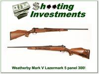 Weatherby Mark V Lazermark 5 Panel 300 Mag!