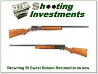 Browning A5 Sweet Sixteen 55 Belgium Restored to as new!