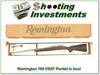 Remington 700 VSSF 22-250 Stainless Fluted factory ported in box!