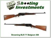 Browning BLR Belgium 308 collector!