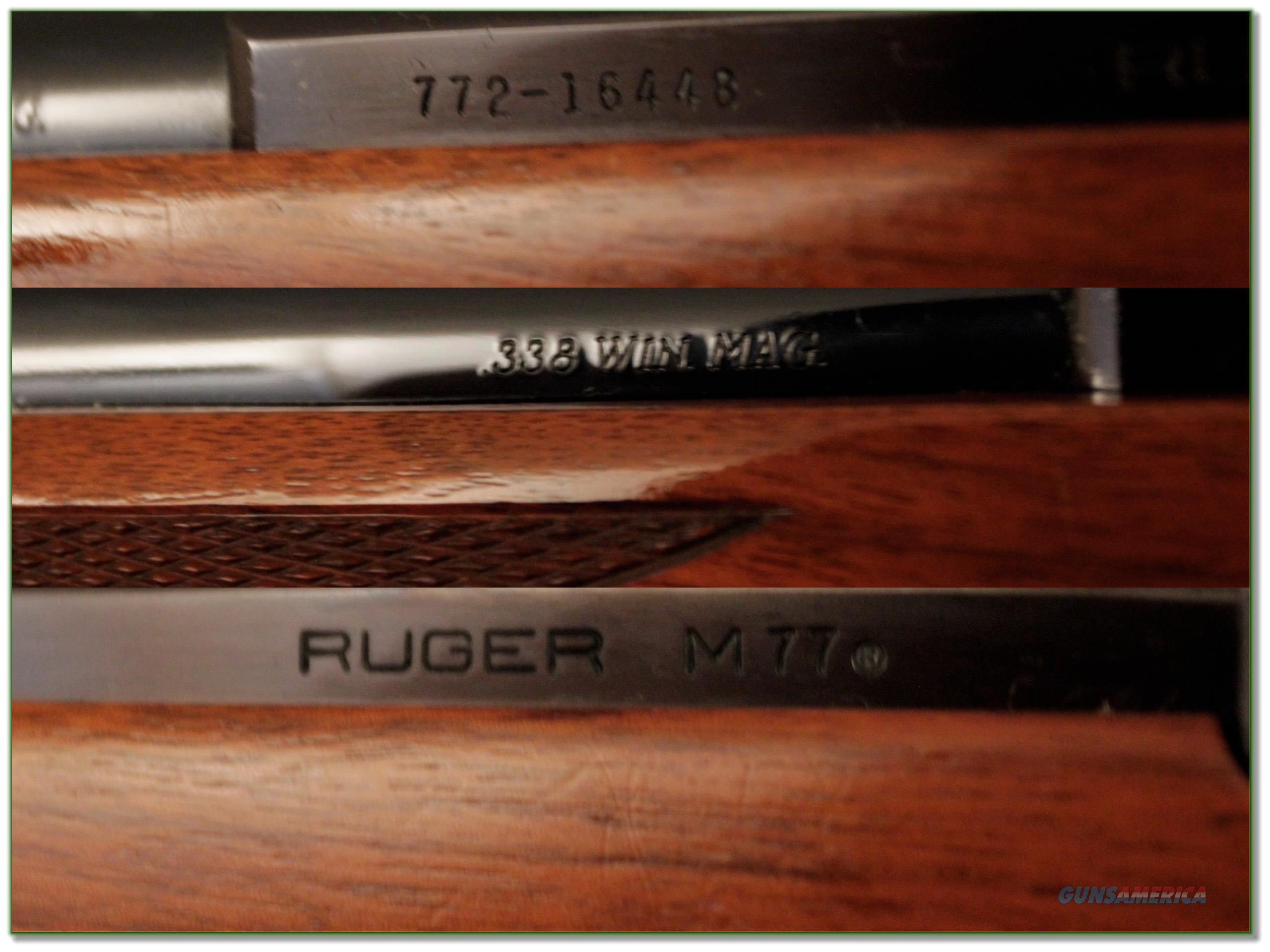 Magnum Insurance Near Me >> Ruger Model 77 Red Pad 338 Win Mag as new! for sale