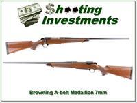 Browning A-bolt Medallion 7mm Rem Magnum