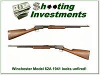 Winchester Model 62A 1941 looks unfired!