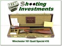Winchester 101 Quail Special 410 bore in case