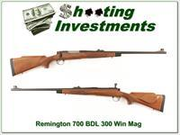 Remington 700 BDL in 300 Win Mag Exc Cond