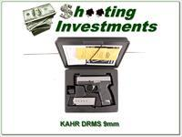KAHR PM9 Stainless 9mm in case