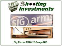 Sig Arms Rizzini TR20 12 Gauge NIB never fired