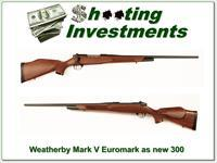 Weatherby Mark V Euromark 300 Exc Cond!