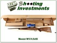 Mauser M12 German made 6.5 x 55 unfired in box