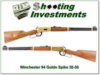 Winchester 94 Golden Spike 30-30 Carbine Exc Cond