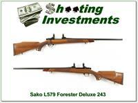 Sako Forester L579 Deluxe 243 Exc Cond