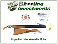 Ruger Red Label Woodside 12 28in RARE English Stock in box!