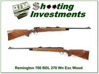 Remington 700 BDL 270 Nice Wood!