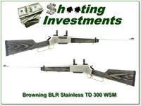 Browning BLR Stainless Laminated Takedown in 300 WSM