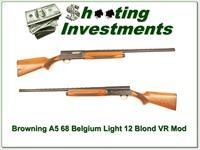 Browning A5 Light 12 68 Belgium VR 28in Mod