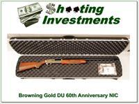 Browning Gold Ducks Unlimited 60th Anniversary NIC