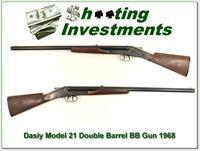 Daisy Model 21 Double Barrel air gun BB Collector