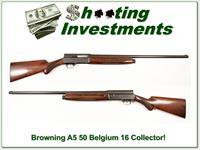 Browning A5 1950 Belgium 16 Exc Cond!
